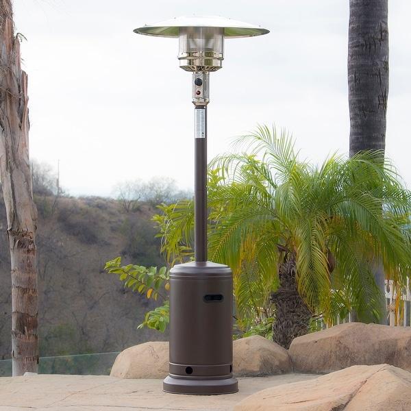Belleze 48,000BTU Patio Standing Heater, Propane, CSA Certified, Auto Tilt  Shutoff,