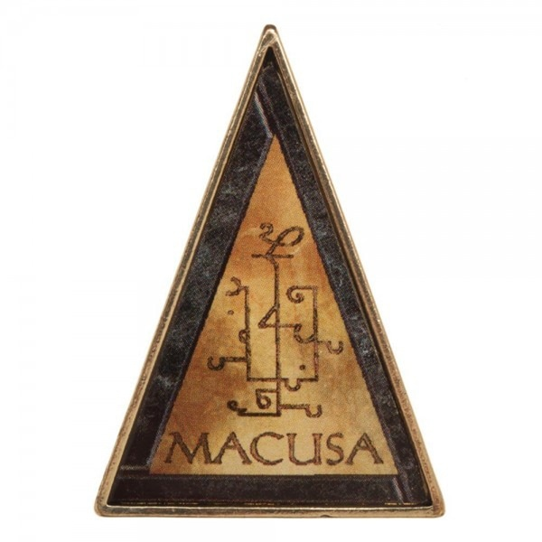 Fantastic Beasts And Where To Find Them M.A.C.U.S.A. Lapel Pin - multi