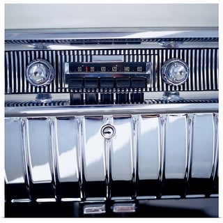 """""""Dashboard of a Vintage Car"""" Poster Print"""