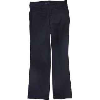 Link to Charter Club Womens Solid Casual Trouser Pants, blue, 6 Short Similar Items in Pants