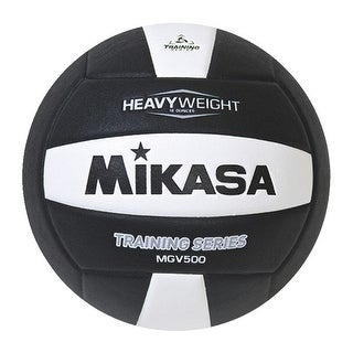 Mikasa Volleyball, Setters Training, Black/White