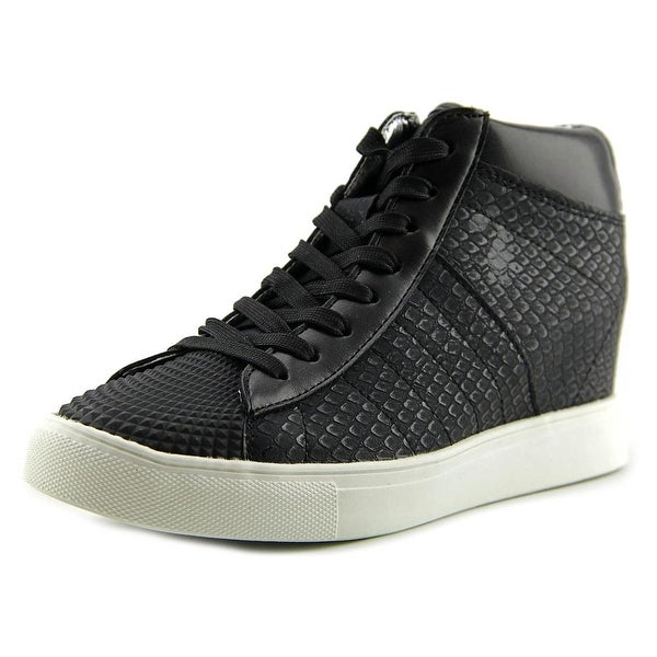 Madden Girl Supastud Women  Round Toe Synthetic Black Sneakers