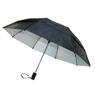 GustBuster Metro Solid Color Auto Open Vented Compact Umbrella - One Size