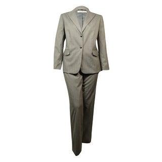 Tahari Women's Graphic Shepherd's Check Pant Suit - 16W