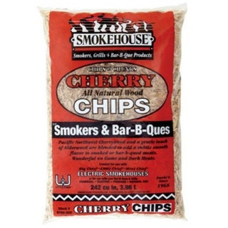 Smokehouse 9790 Cherry Wood Chips, 1.75 lb