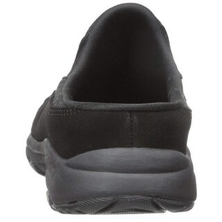 Easy Spirit Womens Traveltime Leather Closed Toe Clogs - 6