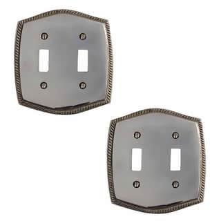 2 Switchplate Chrome 5 1/4 H Braided Double Toggle|https://ak1.ostkcdn.com/images/products/is/images/direct/e336d9058170f91cc90798b05e45b73bcde9b793/2-Switchplate-Chrome-5-1-4-H-Braided-Double-Toggle-%7C-Renovator%27s-Supply.jpg?impolicy=medium