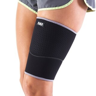 Black Mountain Products Extra Thick Warming Blue Thigh Brace