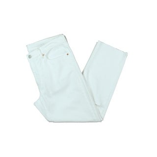 Polo Ralph Lauren Womens Cropped Jeans Destroyed High Rise - 31