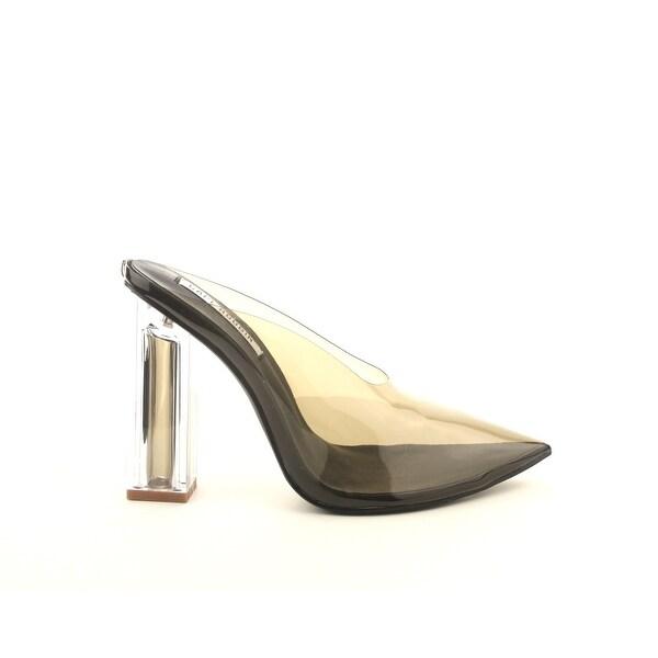 Cape Robbin Women/'s Peep Toe Lucite Clear Heel Ankle Strap Sandal