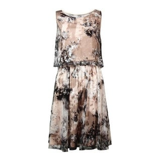 Betsey Johnson Women's Sequined Popover Mesh Dress