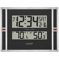 La Crosse Technology  513-149 Indoor & Outdoor Temp Trend Atomic Clock