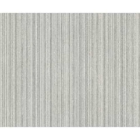 Salois Light Grey Texture Wallpaper - 20.5in x 396in x 0.025in