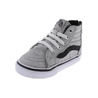 Vans Girls SK8-HI Casual Shoes High Top Sparkly (2 options available)