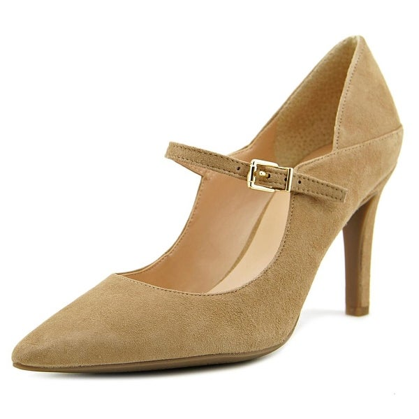 12965e2bfdd Shop Franco Sarto Anthem Women Pointed Toe Suede Tan Mary Janes ...
