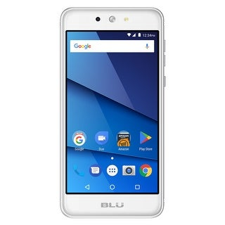 BLU Grand M2 G190Q Unlocked GSM Quad-Core Android Phone - Silver