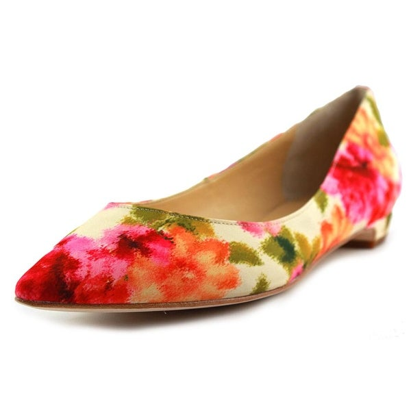 Ivanka Trump Tizzy 4 Women  Pointed Toe Canvas Multi Color Flats