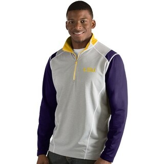 Louisiana State University Men's Automatic Half Zip Pullover