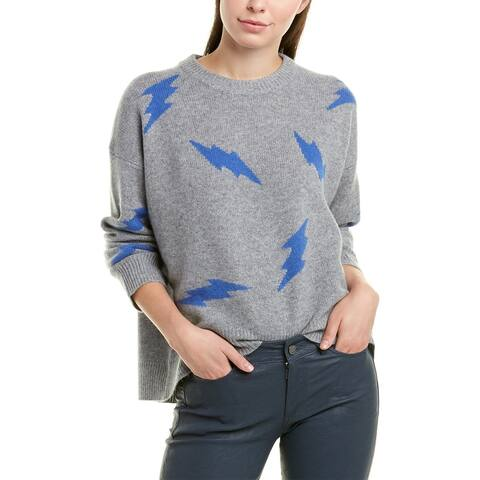 Zadig & Voltaire Markus Cashmere Sweater - GRIS CHINE CLAIR