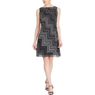 American Living Womens Wear to Work Dress Printed Sleeveless