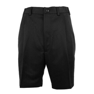 Roundtree & Yorke Men's Big & Tall Expander Waistband Pleated Shorts - 52 big