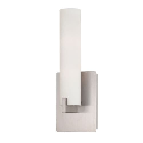 Eurofase Lighting 23271 Zuma 2 Light Wall Sconce with Frosted Glass Tube
