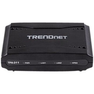 Trendnet Mid-Band Hpna Coaxial Network Adapter, Data Transmission Rates Up To 256Mbps Over Distances Up To 1600M (5,200