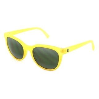 Electric Bengal Twin Fin Men Wayfarer Yellow Sunglasses