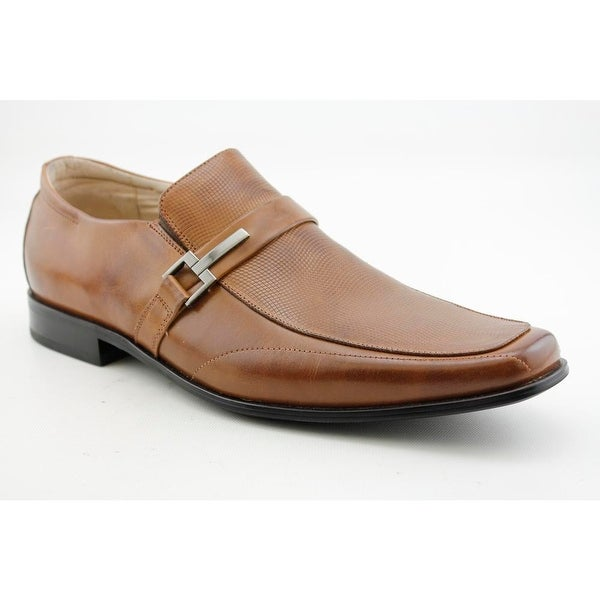 Stacy Adams Beau Men Square Toe Leather Loafer