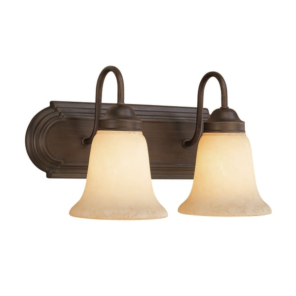 Millennium Lighting 4082 2 Light Bathroom Vanity Light - Rubbed bronze