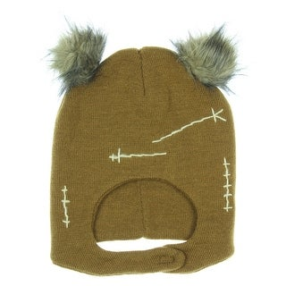 Star Wars Ewok Mascot Hat, Brown, One Size Hat Cap