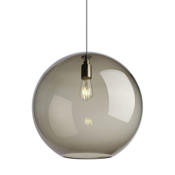 Tech Lighting 700tdplaps Palla 1 Light 17 11 16 Wide Pendant With