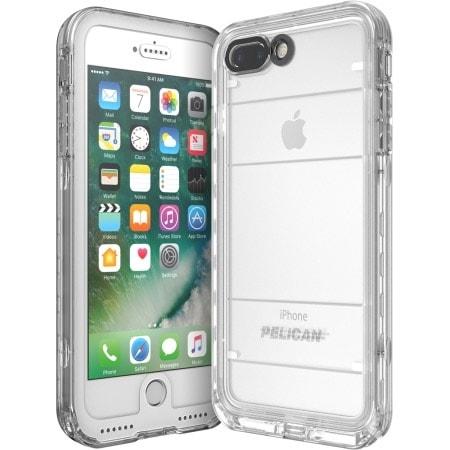Pelican Marine IP68 Case iPhone 7 Plus White/Clear