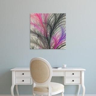 Easy Art Prints James Burghardt's 'Sea Fern I' Premium Canvas Art