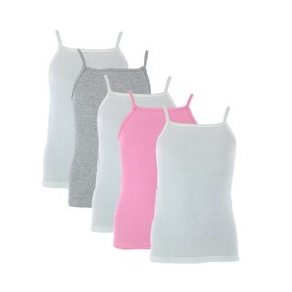 Fruit of the Loom Girl's Cami Undershirts (5 Pack)