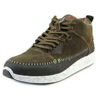 Diamond Supply Co Native Trek Men  Round Toe Suede Green Sneakers