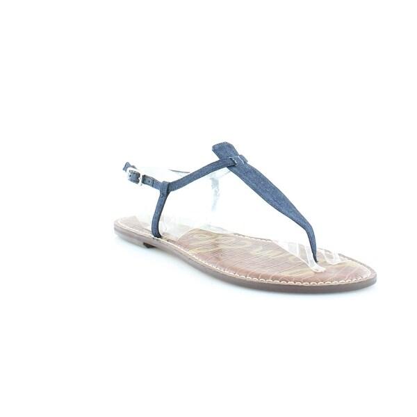 750512e1c Shop Sam Edelman Gigi Women s Sandals   Flip Flops Navy - Free ...