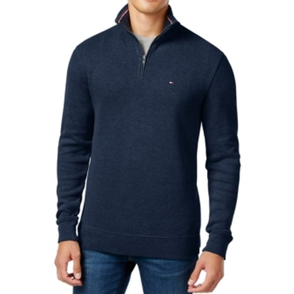 Tommy Hilfiger Mens Big and Tall 1//4 Zip Pullover Sweater