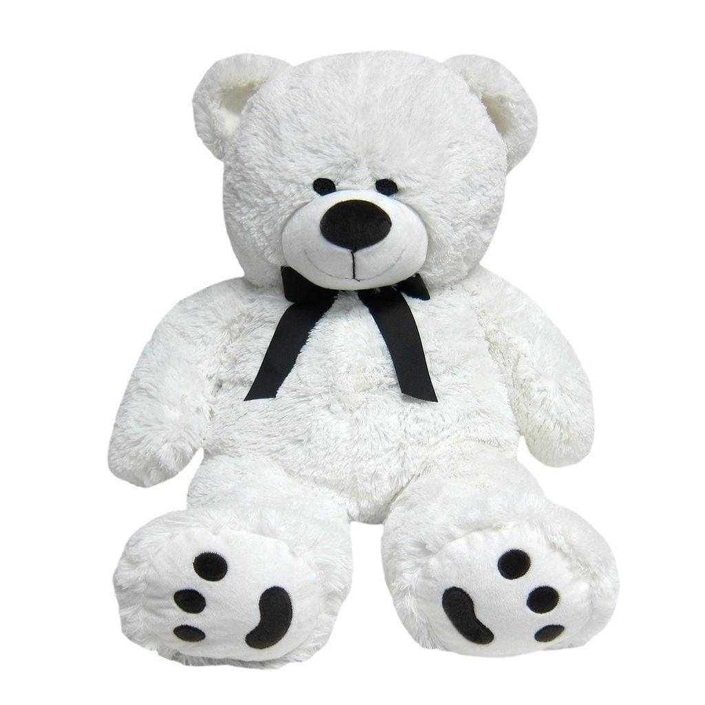 Hay Hay Chicken Stuffed Animal, Shop Joon Big Teddy Bear Tuxedo Edition White Overstock 14532490