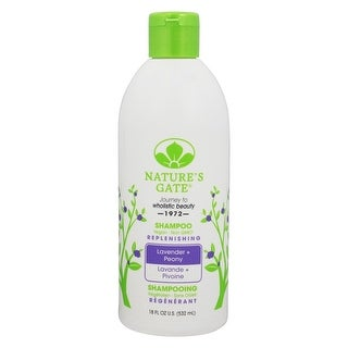 Nature's Gate Replenishing 18-ounce Lavender + Peony Shampoo