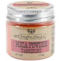 Finnabair Art Ingredients Mica Powder .6oz-Tangerine