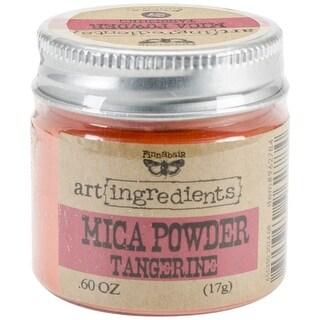 Finnabair Art Ingredients Mica Powder .6oz-Tangerine