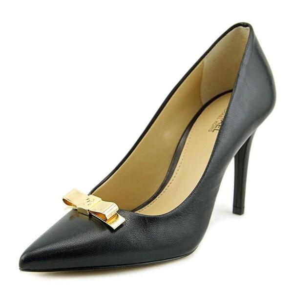 Michael Michael Kors Vivienne Pump Women Pointed Toe Leather Heels