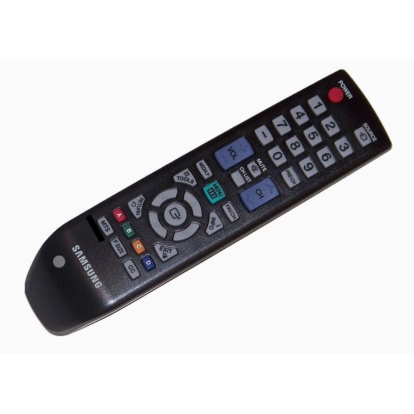 OEM Samsung Remote Control: LN46B530, LN46B530P7F, ln46b530p7fx2a, LN46B530P7FXZA, LN52B530, LS19CFNKFYD