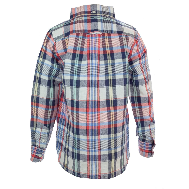 Janie And Jack Boy/'s Gingham Linen Shirt Button-Down /& Dress