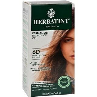 Herbatint - Permanent Herbal Haircolour Gel 6D - Dark Golden Blonde ( 1 - CT)