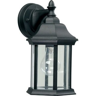 Quorum International Q787 4 Light Outdoor Wall Sconce with Clear Shade
