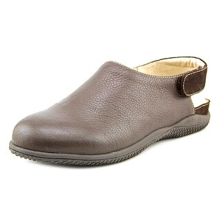Softwalk Holland W Round Toe Leather Clogs
