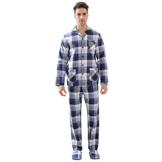 Link to Richie House Men's Pajama Two-piece Pajama Set or Slippers Similar Items in Aromatherapy & Massage