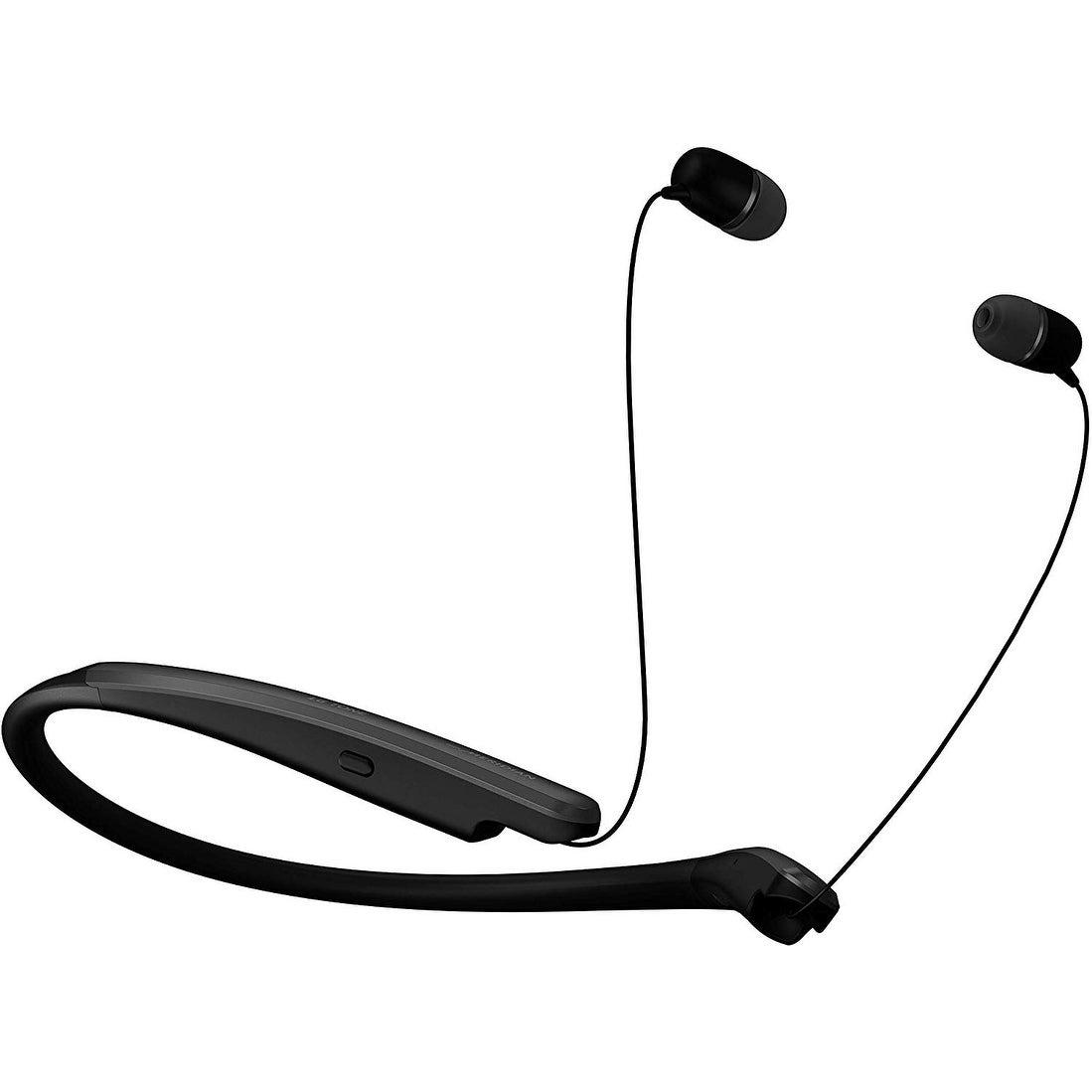 Shop Lg Tone Flex Xl7 Bluetooth Wireless Stereo Headset 32 Bit Hi Fi Upscaling Retractable Earbuds Hbs Xl7 Black Overstock 29821853